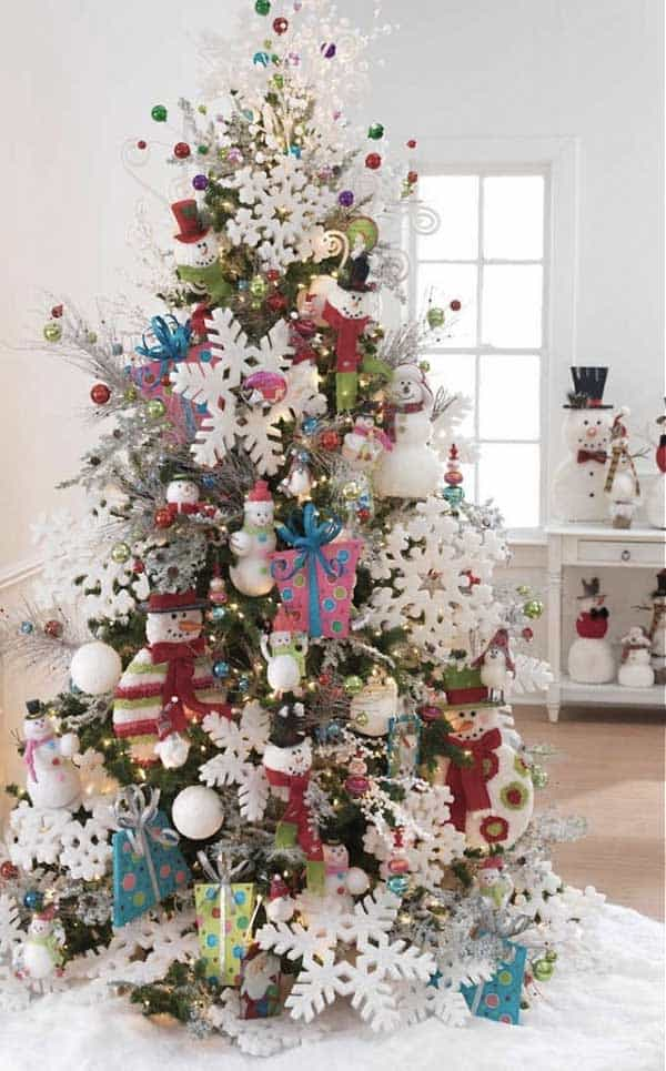 gallery of 25 charmingly beautiful christmas trees for happy shelters homesthetics decor 22 - Beautifully Decorated Christmas Tree Images