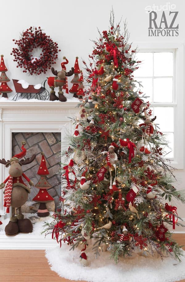 Gallery of 25 Charmingly Beautiful Christmas Trees For Happy Shelters homesthetics decor (24)