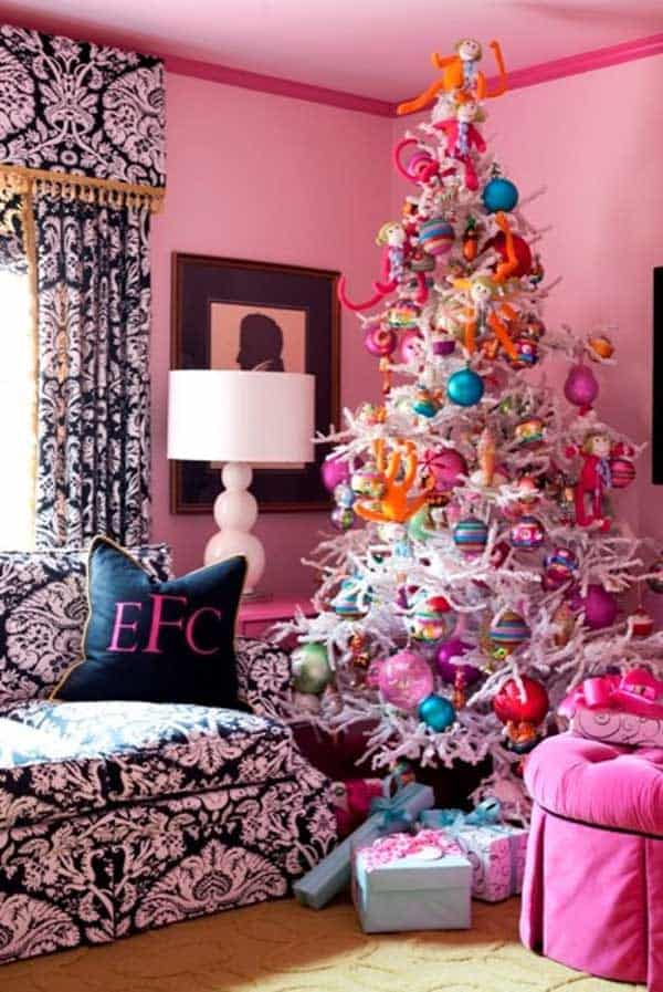Gallery Of 25 Charmingly Beautiful Christmas Trees For Happy