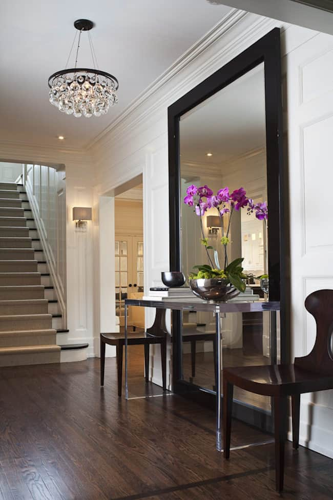 Elegant Foyer Entrances : Enlarge your space with elegant entryways