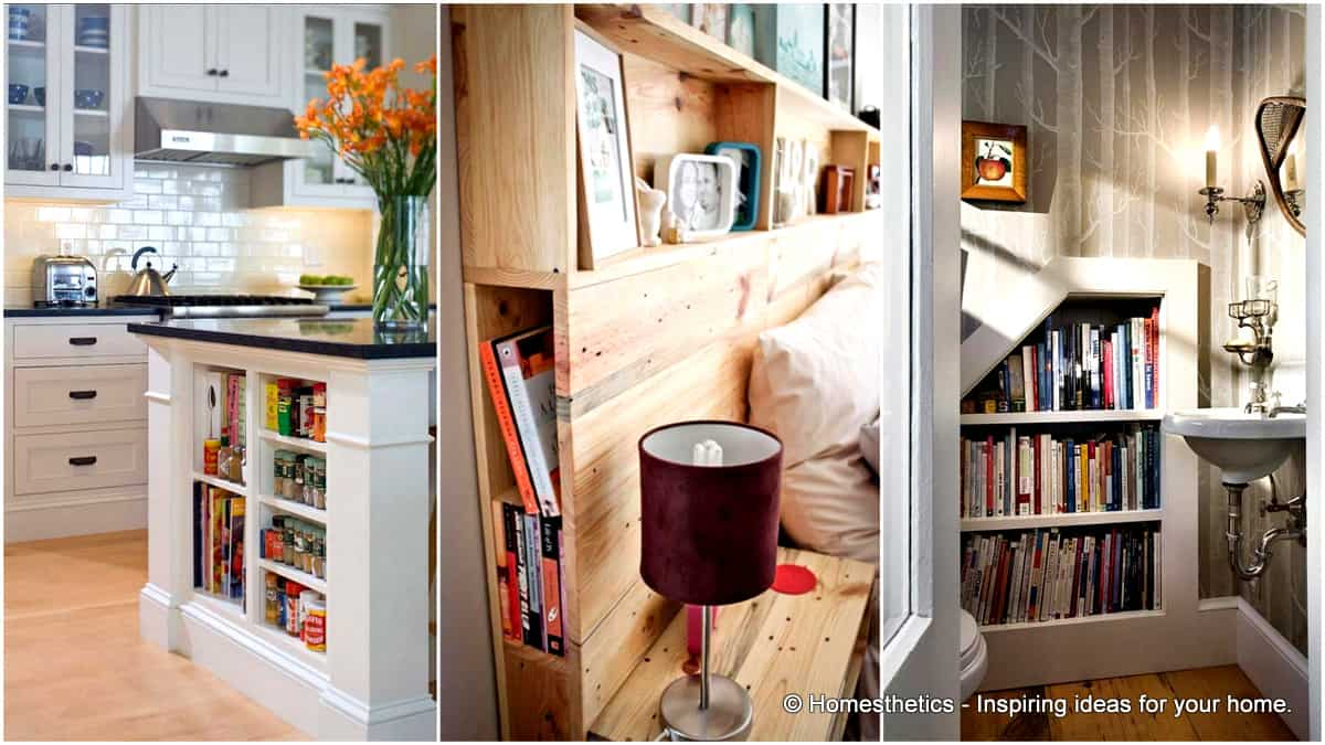 Smart Ways to Store Books Around You