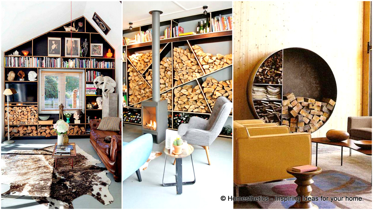 20 Stunning Firewood Storage Focal Points amp Their Magical