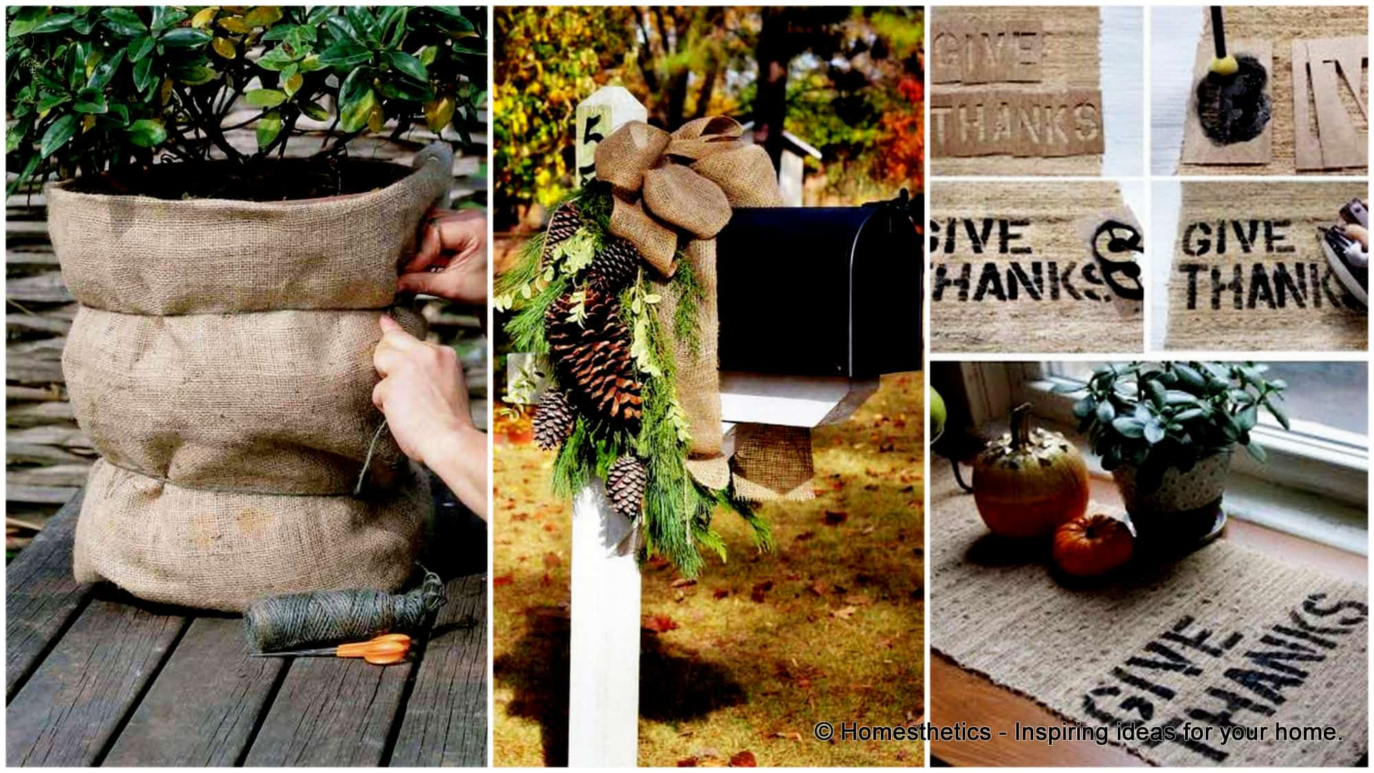 Burlap Home Decor Ideas Part - 27: 34 Insanely Beautiful Burlap Decor Ideas For Cozy Households