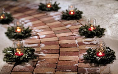 10 ideas of beautifying your outdoor for Christmas homesthetics decor (6)