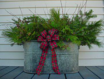 10 ideas of beautifying your outdoor for Christmas homesthetics decor (9)