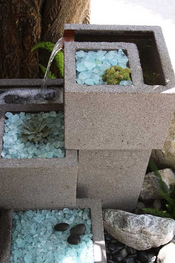 16 Creative Do It Yourself Cinder Block Projects For Your Home homesthetics (1)
