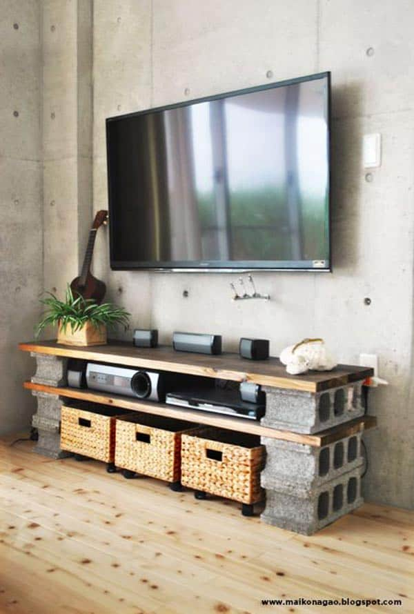 16 Creative Do It Yourself Cinder Block Projects For Your Home homesthetics (7)