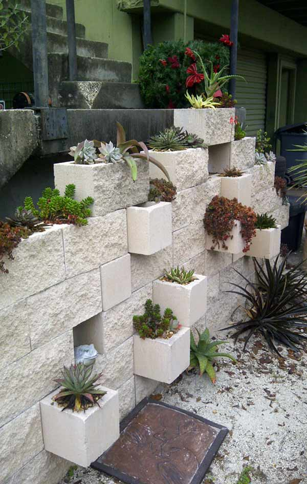 16 Creative Do It Yourself Cinder Block Projects For Your Home homesthetics (8)