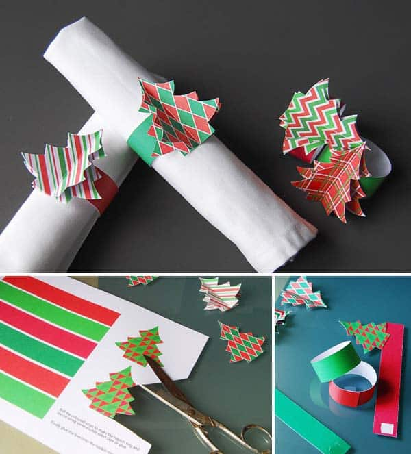 17 Super Delicate Napkin Ideas For Your Christmas Table Setting homesthetics decor (5)