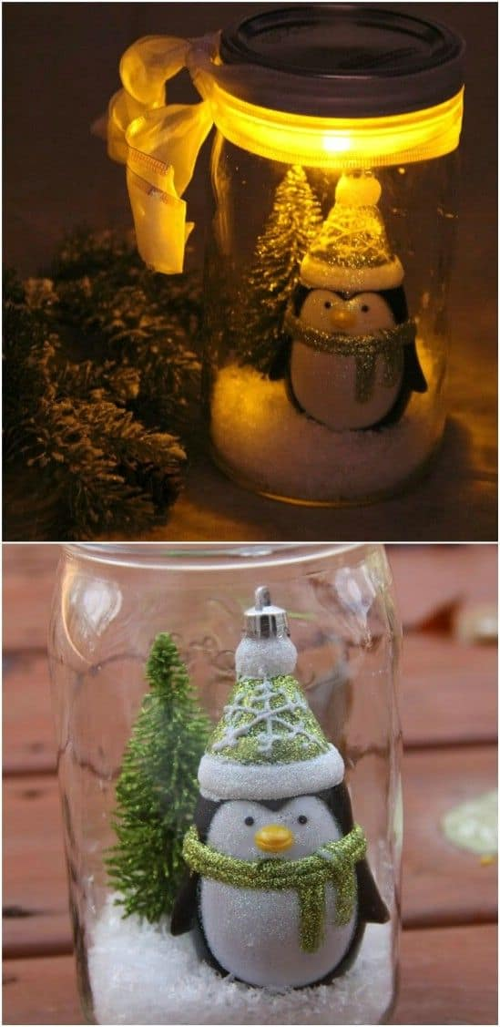 18 Captivating DIY Christmas Mason Jars (15)
