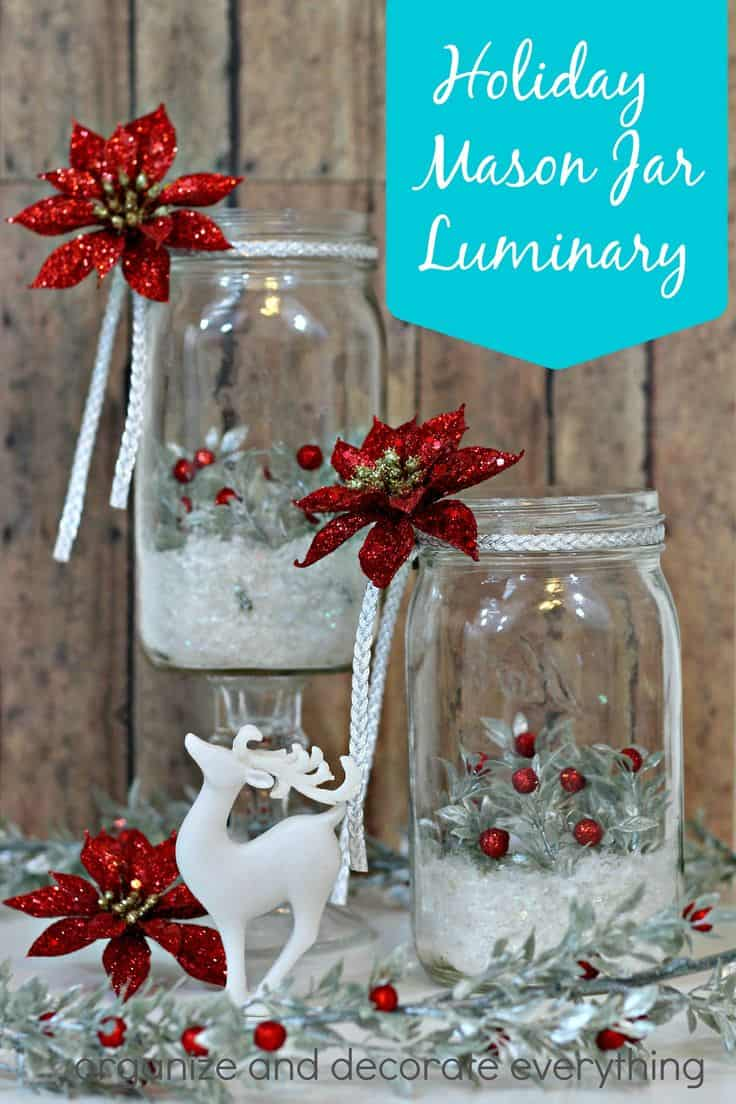 18 Captivating DIY Christmas Mason Jars Homesthetics