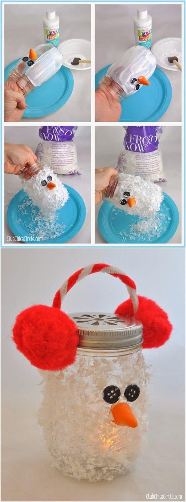 18 Captivating DIY Christmas Mason Jars (6)