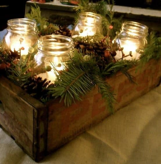 18 Captivating DIY Christmas Mason Jars (7)
