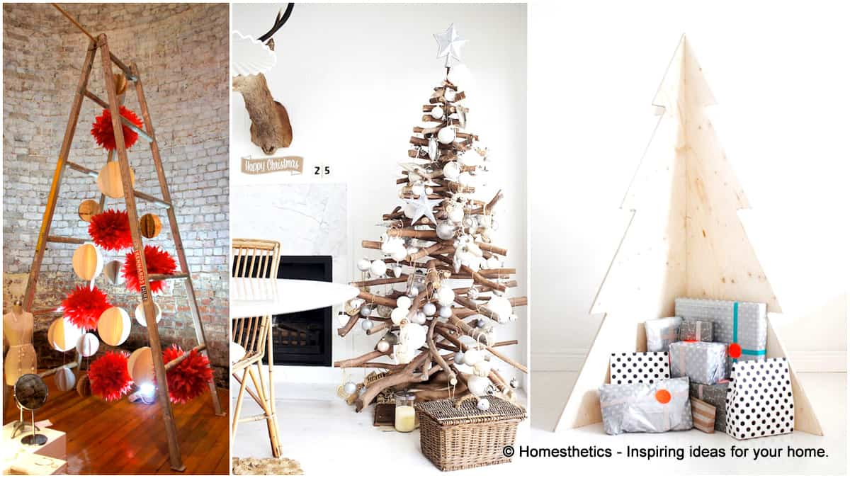 19 exceptionally brilliant modern christmas tree alternatives that you can embrace - Modern Christmas Tree Decorations