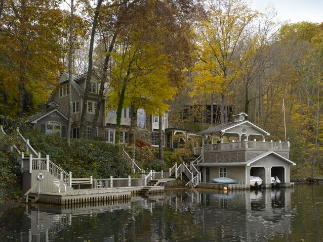 18 Lake Houses That Will Make You Reconsider Moving To The Country (15)