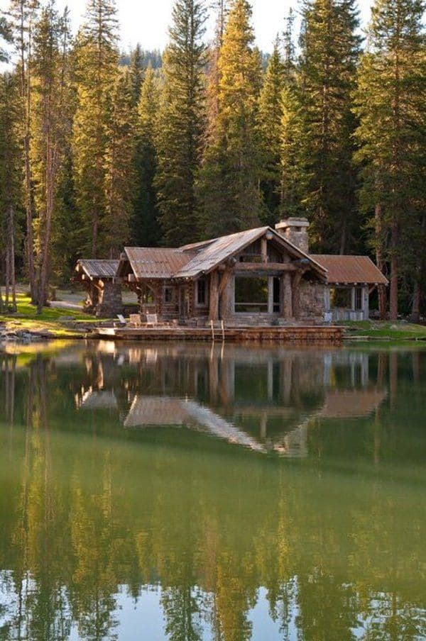 18 Lake Houses That Will Make You Reconsider Moving To The Country (18)