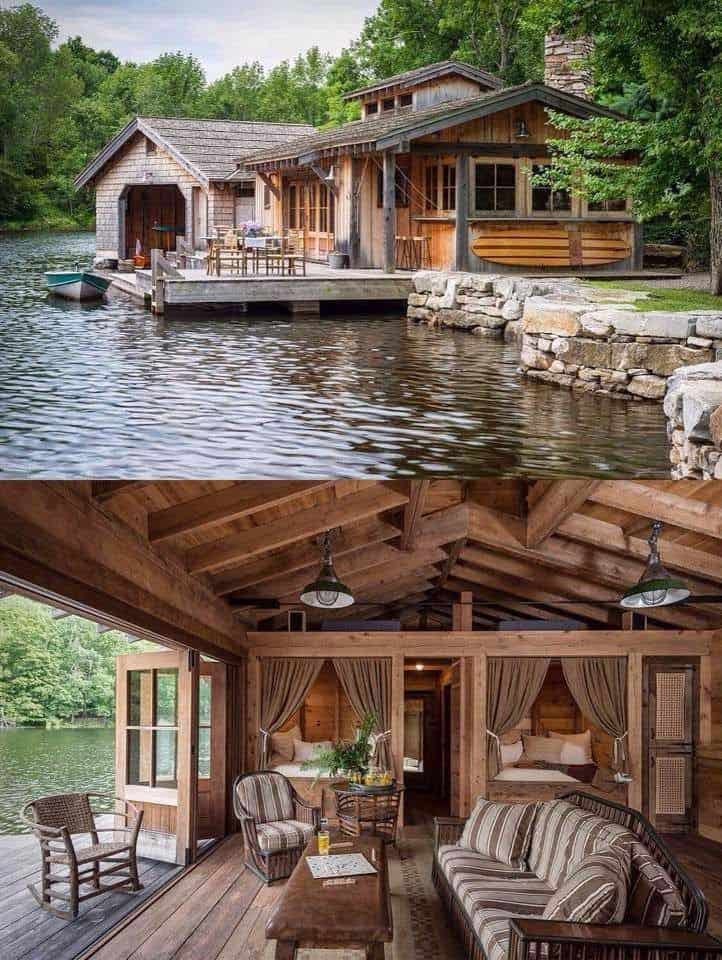 18 Lake Houses That Will Make You Reconsider Moving To The Country (6)
