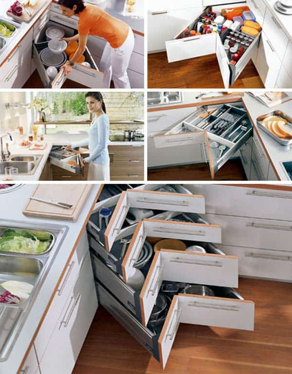 19 Creative and Ingenious Ways to Use Your Corner Space In Your Home homesthetics decor (11)