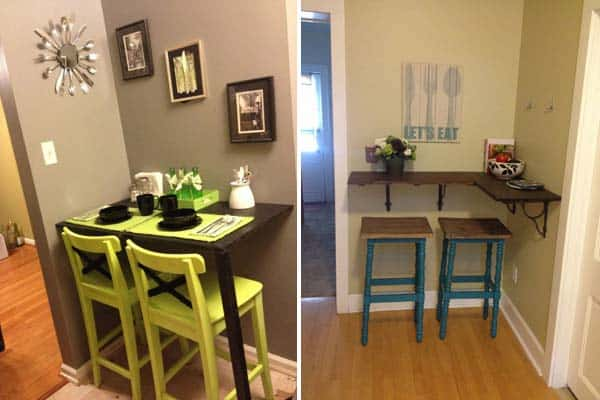 Coffee Bar Table Diy Small Spaces
