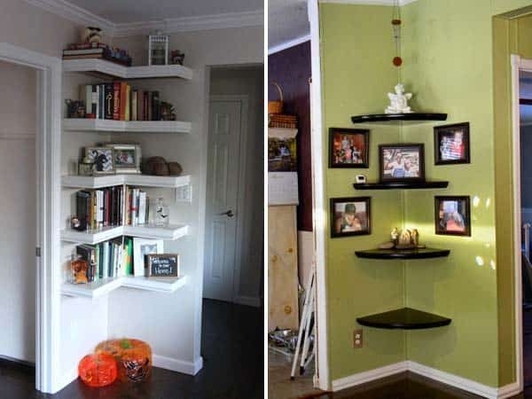 19 Creative and Ingenious Ways to Use Your Corner Space In Your Home homesthetics decor (6)