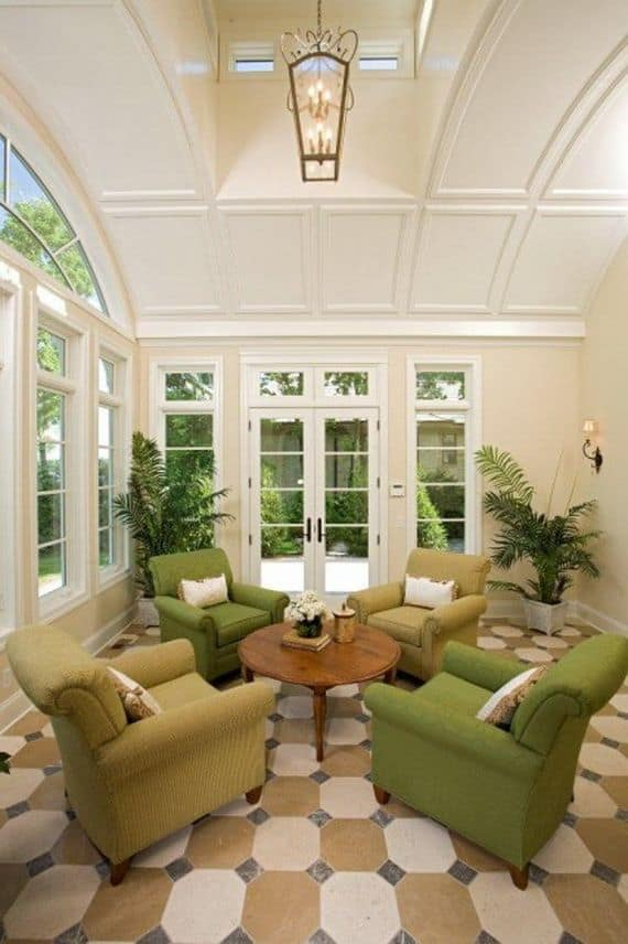 19 Ways You Can Use Modern Furnishings to Design The Interior Decor Of A Sun-Room (14)