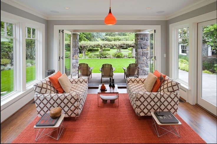 19 Ways You Can Use Modern Furnishings to Design The Interior Decor Of A Sun-Room (19)