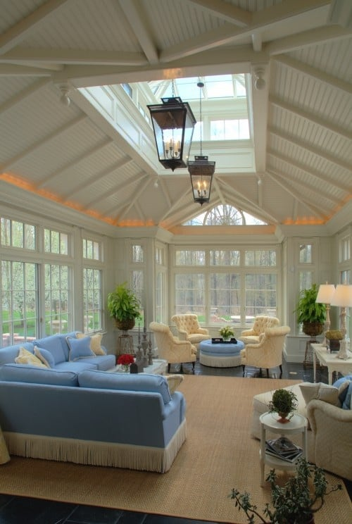 19 Ways You Can Use Modern Furnishings to Design The Interior Decor Of A Sun-Room (6)