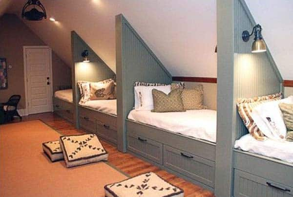 20 Spectacular Design Ideas For Unused Attic Space Design Homesthetics (2)