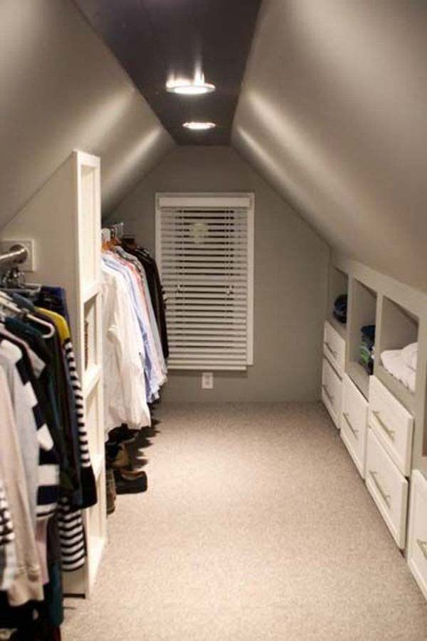 23 Spectacular Design Ideas For Unused Attic Space