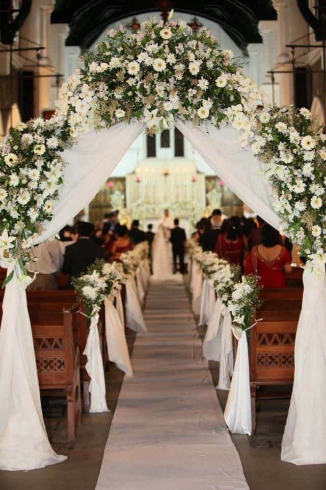 26 Stunningly Beautiful Decor Ideas For Indoor And Outdoor Weddings (15) & 23 Stunningly Beautiful Decor Ideas For The Most Breathtaking Indoor ...