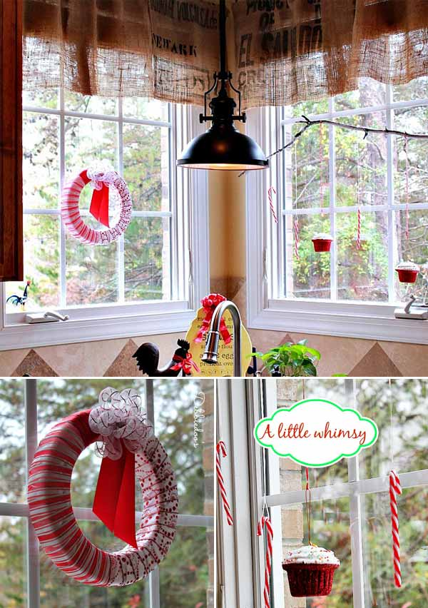 30 Insanely Beautiful Last-Minute Christmas Windows Decorating Ideas homesthetics decor (28)