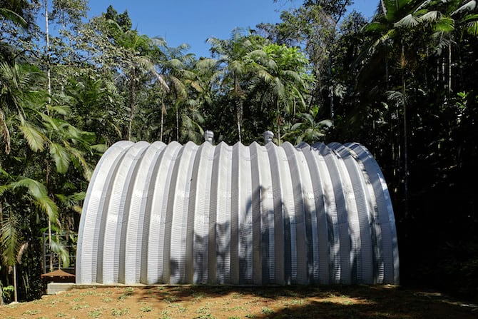 Atelier Marko Brajovic Designs Remote Residence Nestled in Brazilian Forest homesthetics (4)