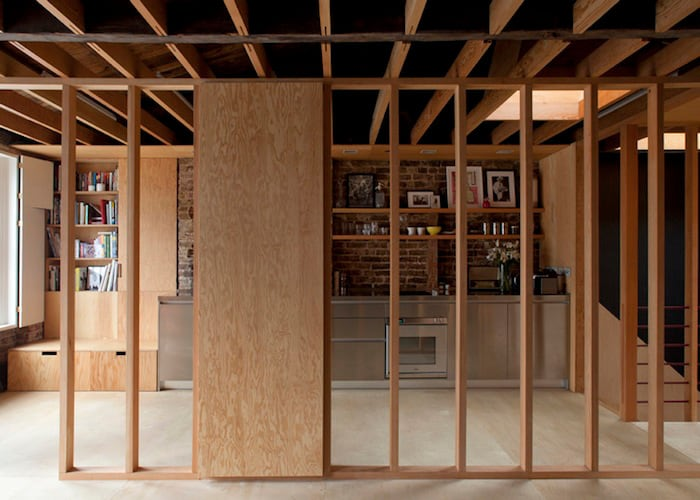 coziness and warmth in a minimal wooden frame house by jonathan tuckey design - Wood Frame House
