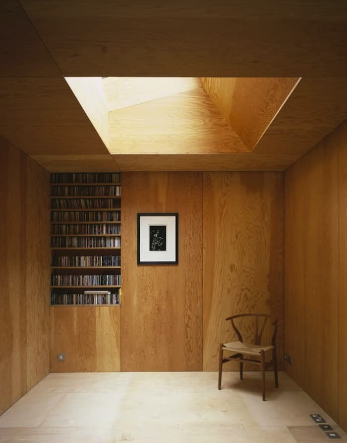 Coziness And Warmth In A Minimal Wooden Frame House By