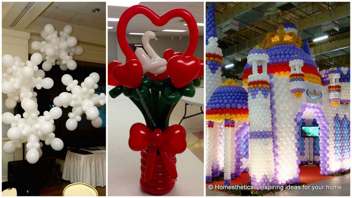 Christmas Balloon Decorating Ideas Part - 15: 17 Mind-boggling Balloon Decorating Craft Ideas Suited For Any Event