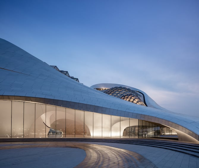 Fascinating Sculptural Sinuous Opera House Envisioned by MAD Architects homesthetics decor (11)