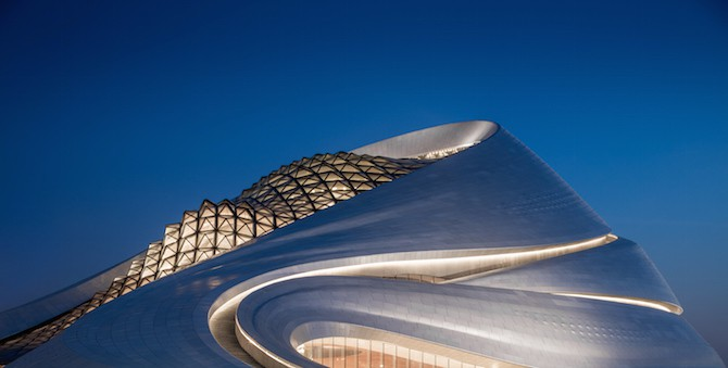 Fascinating Sculptural Sinuous Opera House Envisioned by MAD Architects homesthetics decor (12)