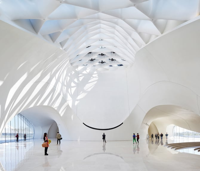 Fascinating Sculptural Sinuous Opera House Envisioned by MAD Architects homesthetics decor (14)