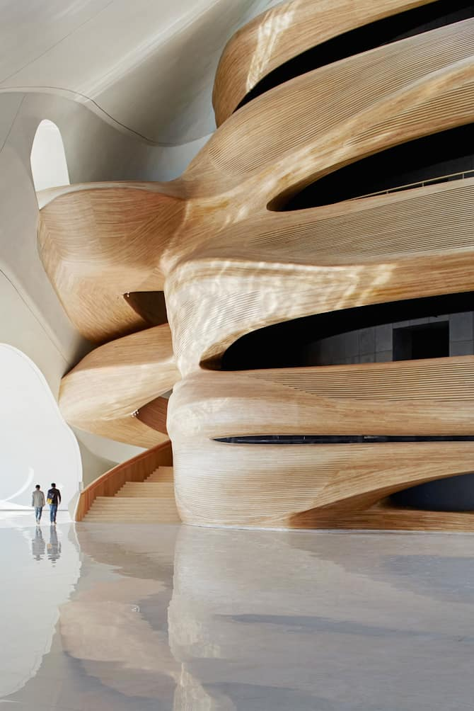 Fascinating Sculptural Sinuous Opera House Envisioned by MAD Architects homesthetics decor (15)