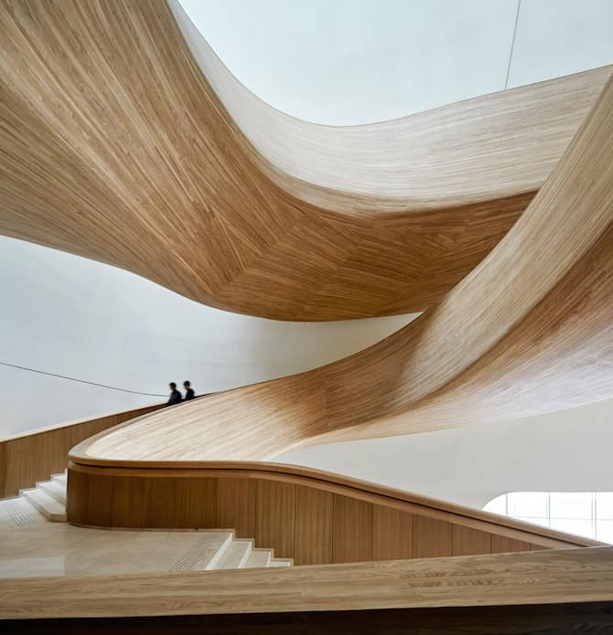 Fascinating Sculptural Sinuous Opera House Envisioned by MAD Architects homesthetics decor (16)