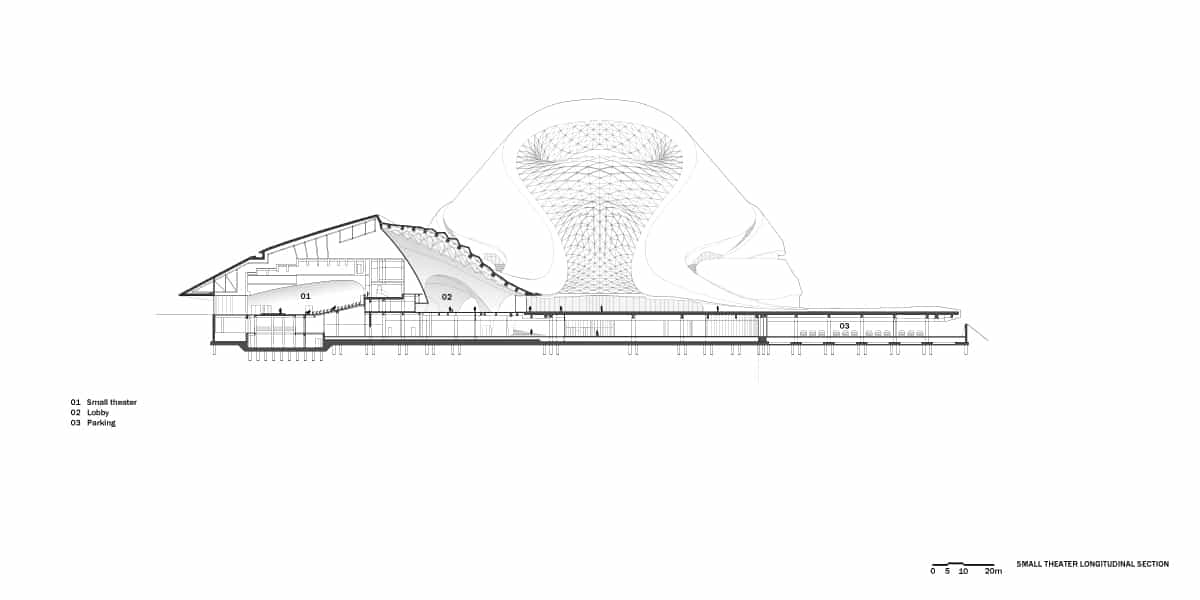 Fascinating Sculptural Sinuous Opera House Envisioned by MAD Architects homesthetics decor (18)