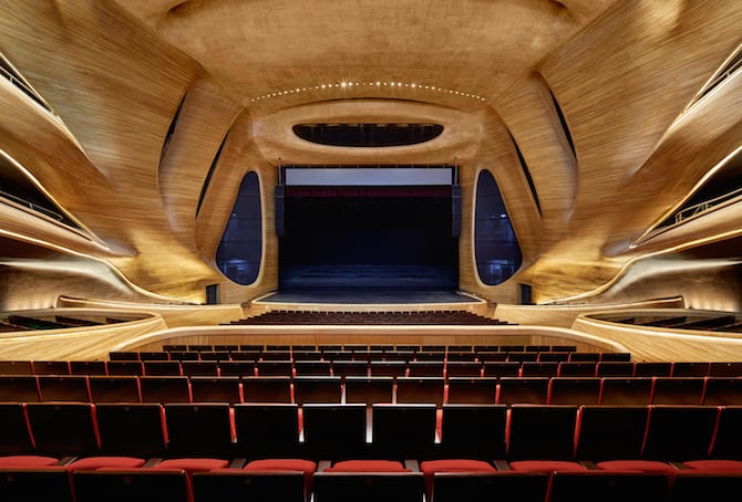 Fascinating Sculptural Sinuous Opera House Envisioned by MAD Architects homesthetics decor (5)