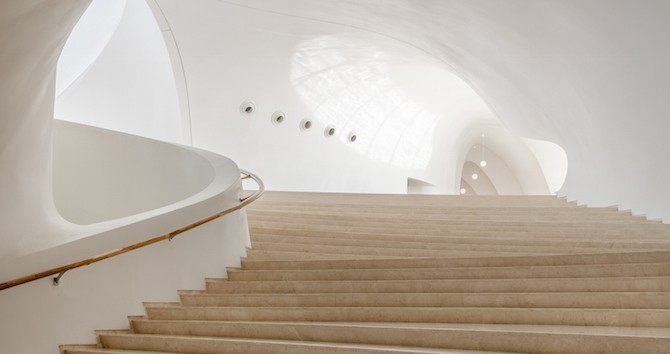 Fascinating Sculptural Sinuous Opera House Envisioned by MAD Architects homesthetics decor (6)