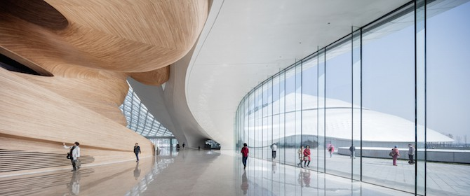 Fascinating Sculptural Sinuous Opera House Envisioned by MAD Architects homesthetics decor (7)
