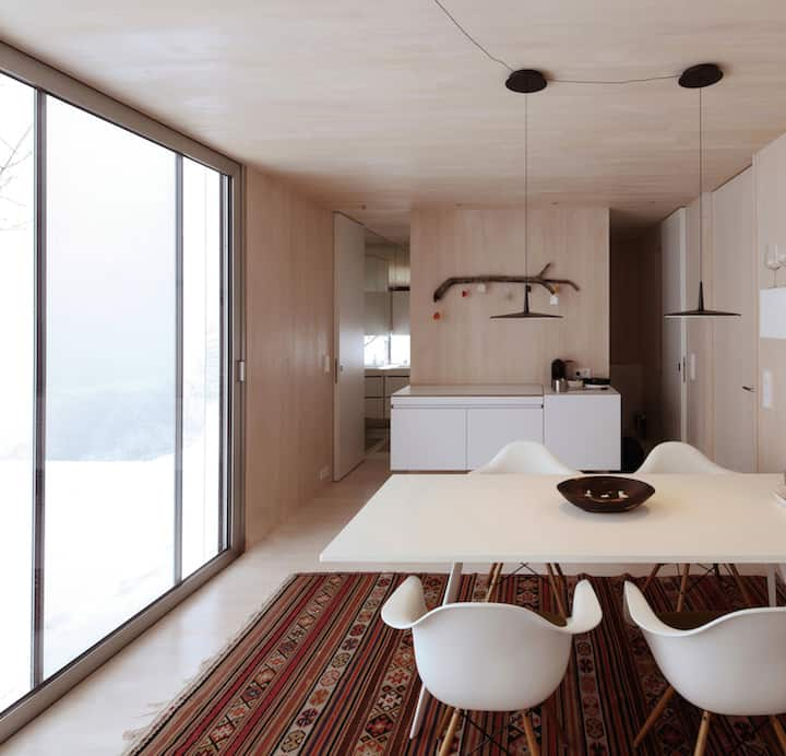 Flexible Housing Unit Entitled Casa Invisible by Delugan Meissl Associated Architects homesthetics (11)