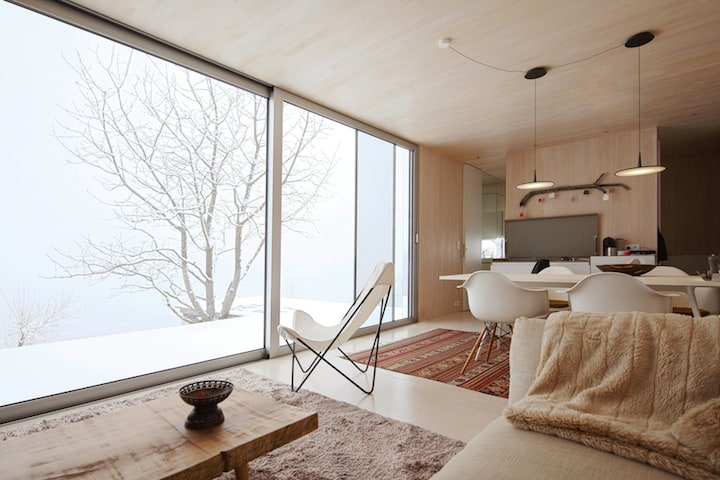 Flexible Housing Unit Entitled Casa Invisible by Delugan Meissl Associated Architects homesthetics (15)