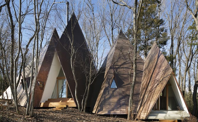 Forest Tipi-Shaped House Envisioned by NAP Architects homesthetics (1)