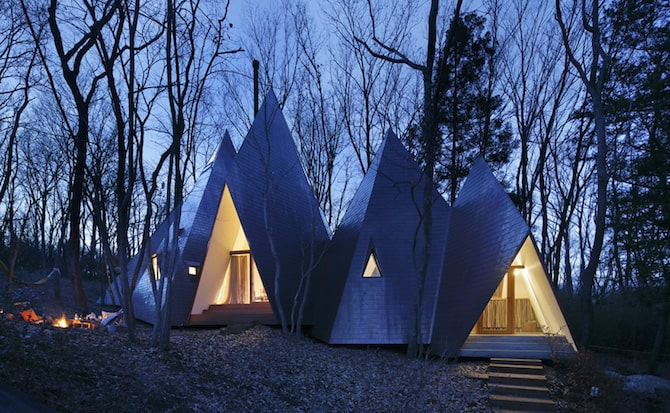 Forest Tipi Shaped House Envisioned by NAP Architects homesthetics 10
