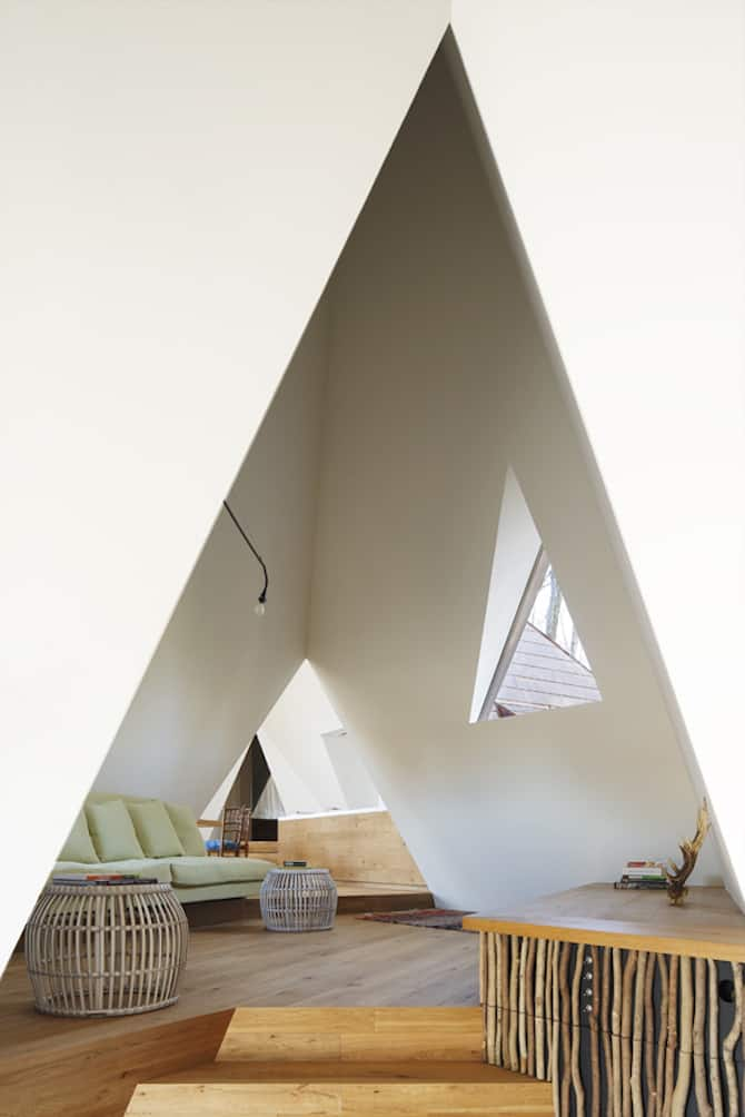 Forest Tipi-Shaped House Envisioned by NAP Architects homesthetics (5)