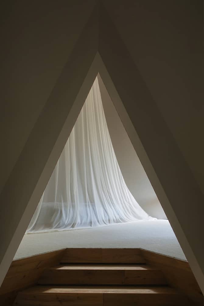 Forest Tipi-Shaped House Envisioned by NAP Architects homesthetics (8)